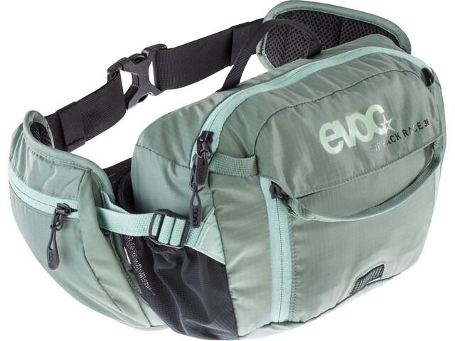 EVOC Hip Pack Race Backpack 3 L, olive-light petrol